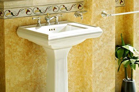 how to remove a pedestal sink how to remove a pedestal sink doityourself com