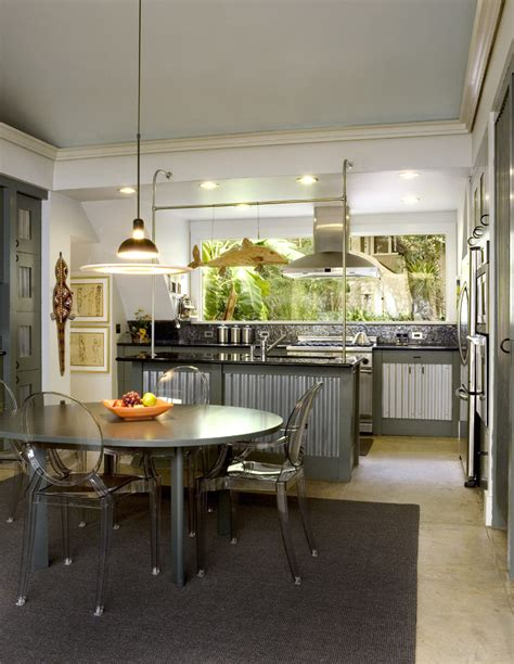 chrome kitchen cabinets metal kitchen cabinets kitchen industrial with chrome bars
