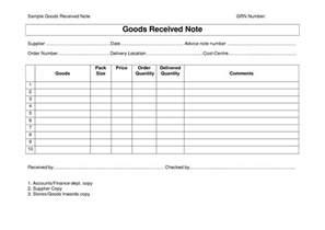 Goods Receipt Template Every Bit Of Life Goods Receipt Note Grn Format Template
