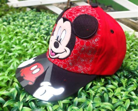 Topi Anak Mickey Trendy topi karakter anak mickey