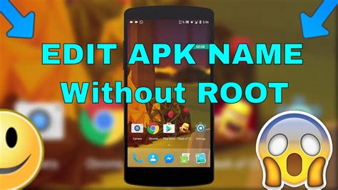 android change app name how to change android app name icon without root from android easy method