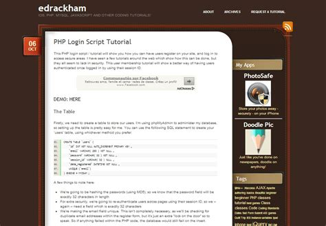 tutorial web with php web development top 5 php and mysql login script tutorials