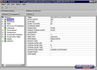 Borland Spreadsheet by Borland Database Engine 5 1 Windows