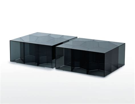 contemporary square coffee table glas italia contemporary square coffee table in