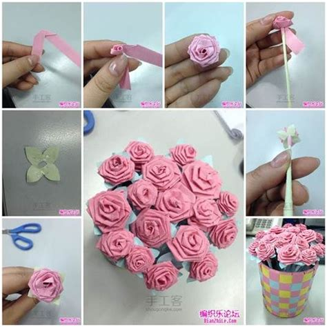 How To Make Paper Flower Bouquet - how to make an origami bouquet pictures photos and