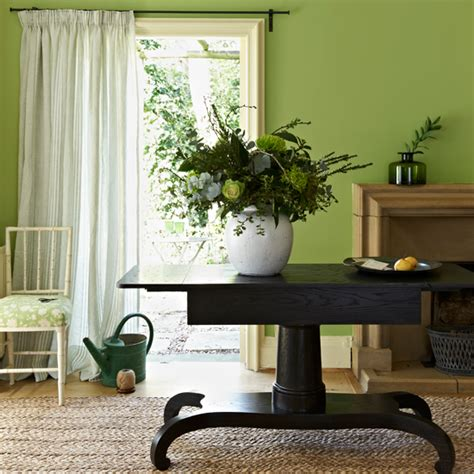 Apple Green Home Decor | apple green living room modern decorating ideas ideal home