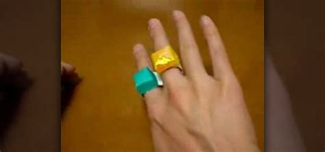 How To Make An Origami Ring - how to make an origami ring 171 origami