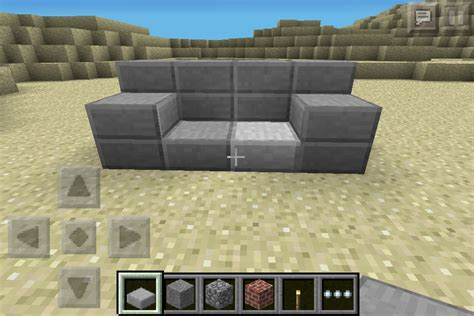 how to make a minecraft couch couch minecraft furniture