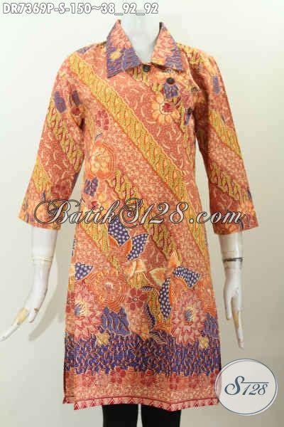 Baju Wanita Muda Baju Dress Motif Modern Klasik Pakaian Batik Wanita Muda