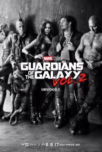 Marvel s guardians of the galaxy vol 2 gets a new movie poster