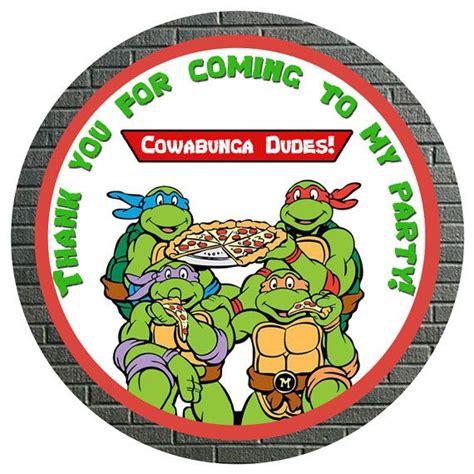 ninja turtles printable name tags 45 best teenage mutant ninja turtles images on pinterest
