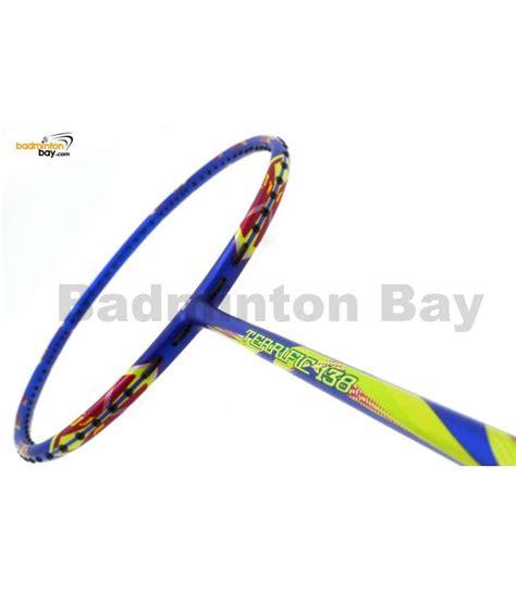 Apacs Blend 6000 Blue 4u Badminton Racket Racquet Free Stringing Pu apacs terrific 138 ii blue badminton racket 4u