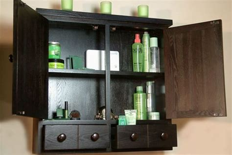 black bathroom wall cabinet home furniture design