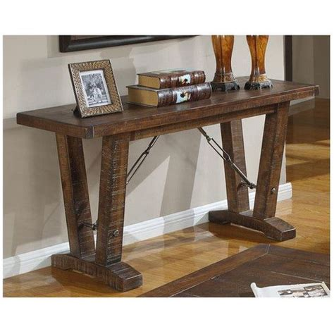 rustic sofa table 17 best ideas about rustic sofa tables on