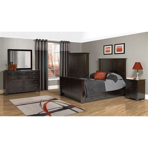 horizon shaker bedroom set amish crafted furniture