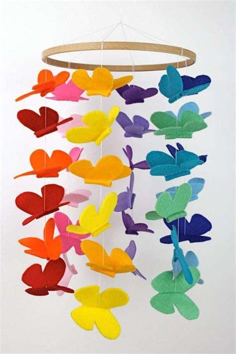 imagenes de mariposas hechas de papel manualidades m 243 viles de cuna para beb 233 s fotos ideas foto