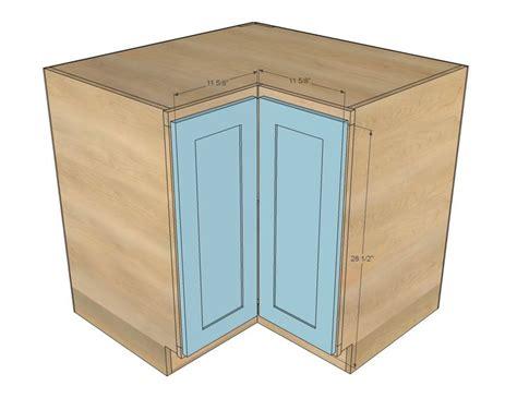 ana white build a easier 36 quot corner base kitchen cabinet momplex vanilla kitchen free and