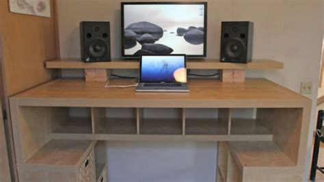 How To Build Computer Desk Woodwork Build Wood Desk Pdf Plans
