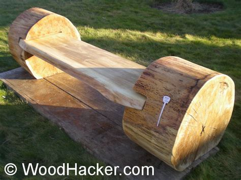 outdoor log benches benches rustic interior decorating