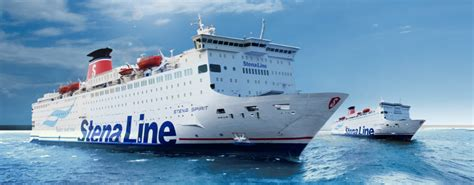 Stelan Linesa stena vision ferry to sweden from gdynia to karlskrona