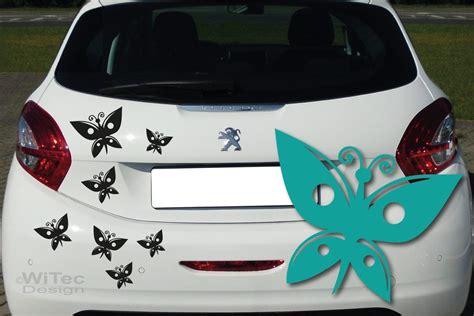 Aufkleber Auto Ch by Autoaufkleber Schmetterling Auto Aufkleber Set
