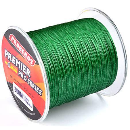 proberos benang pancing premier pro series braided thick 0 14mm green jakartanotebook