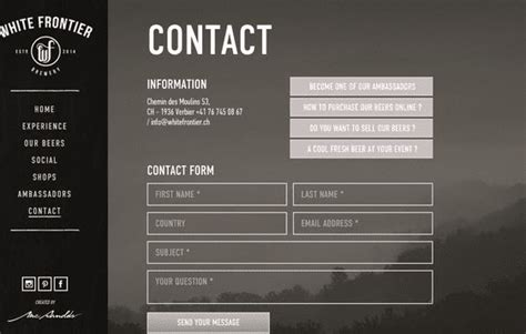 design email form 6 beautiful contact form designs you can steal css exles