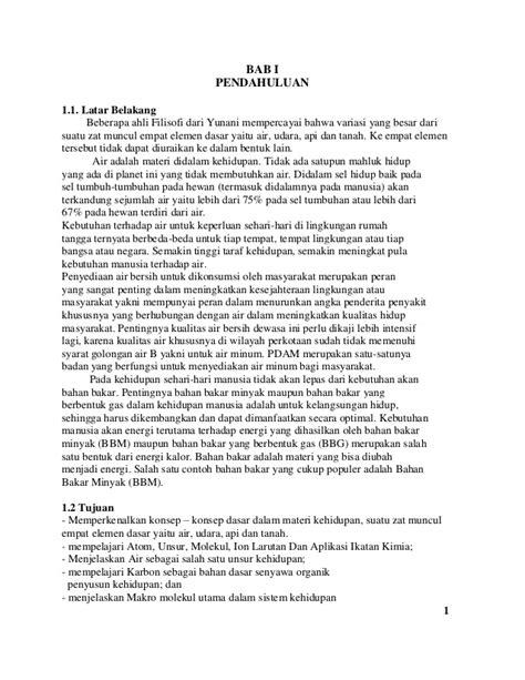 makalah biologi tentang materi kehidupan