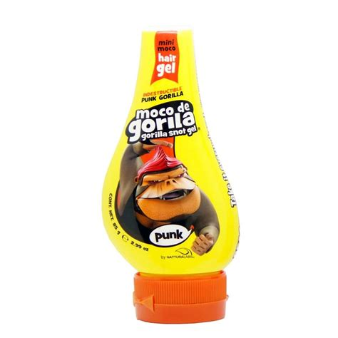 gorilla snot gel moco de gorila moco de gorila gorilla snot gel punk hair yellow squizz