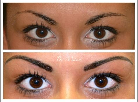tattoo eyebrows old lady maquillage permanent sourcils tatouage