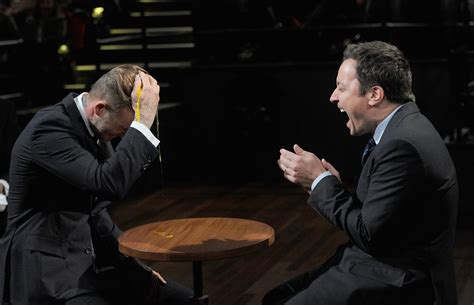david beckham plays egg russian roulette  jimmy fallon popsugar celebrity