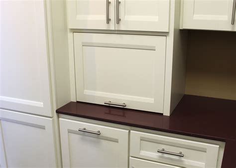 Appliance Storage Cabinet Appliance Storage Burrows Cabinets Central Builder Direct Custom Cabinets