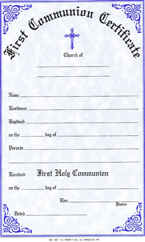 confirmation certificates templates search results for holy communion certificate template
