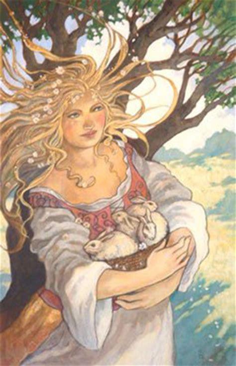 goddess easter happy easter eastre ostera astarte or ishtar deva