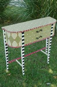 Fun Furniture Painting Ideas by 1000 Ideas About Whimsical Painted Furniture On Pinterest