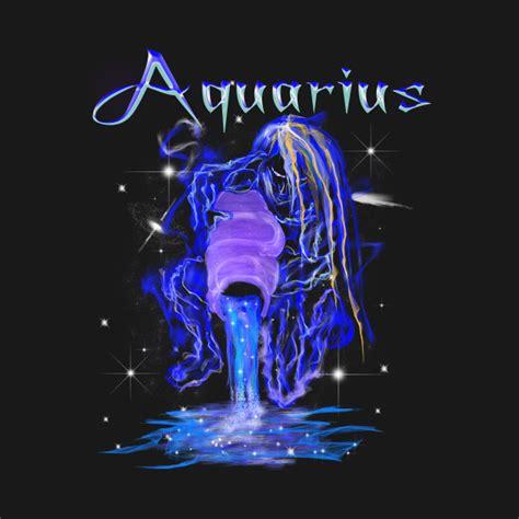 Tshirt Zodiak Aquarius aquarius astrology zodiac constellation design