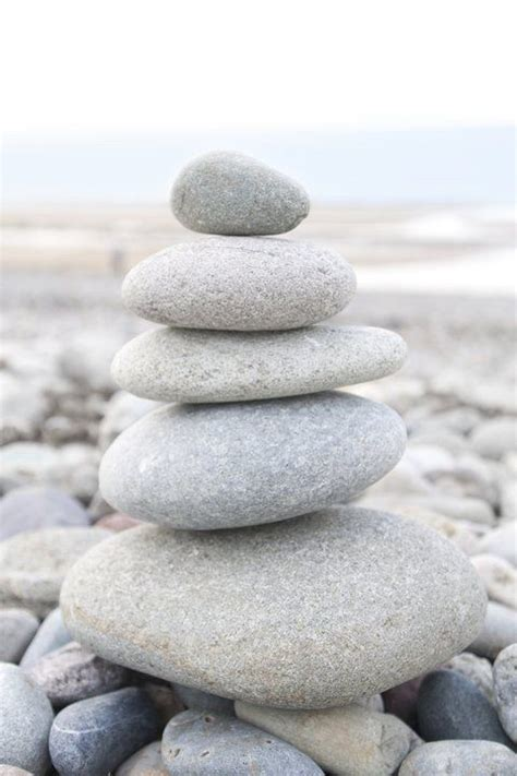 stone cairn mindful pinterest stones rock wall and rocks