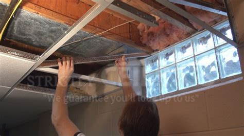 installing a drop ceiling in basement how to build a drop ceiling window well slope drop