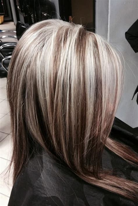 gray dark dark low lights foils hair mid length on pinterest medium lengths medium