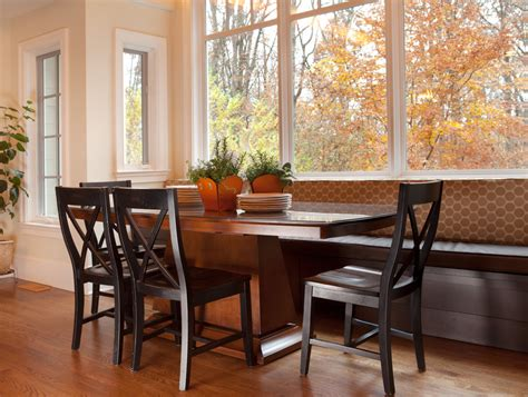 breakfest nook dazzling breakfast nook bench in kitchen transitional with