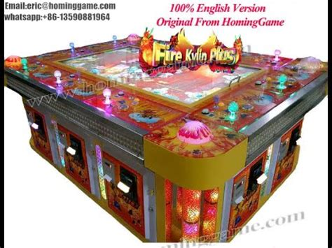 fish table game tips 2016 fishing gambling game machine 100 english version