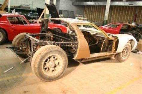 Lamborghini Miura Kit Car For Sale Project For The Brave 1968 Lamborghini Miura Bring A