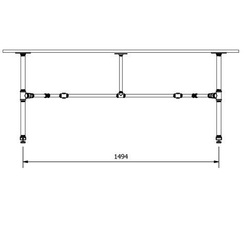 Plumbing Base by 1800 Medium Plumbing Pipe Table Base Kit