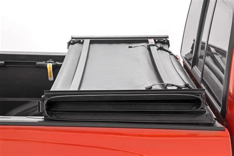 tri fold bed cover soft tri fold bed cover for 16 17 toyota tacoma rough