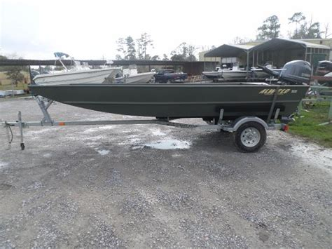 flat bottom boat for sale louisiana alweld 16 boats for sale