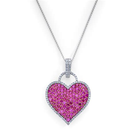 synthetic ruby pendant show your for
