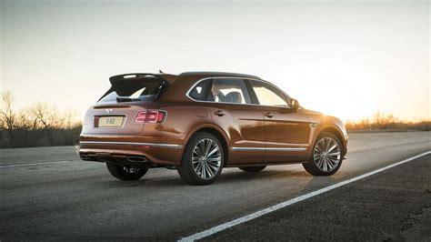 2020 Bentley Suv by 2020 Bentley Bentayga Speed Dethrones Lamborghini Urus By