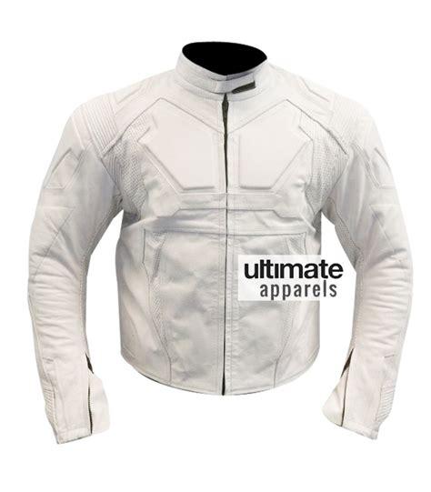 white motorbike jacket oblivion tom cruise jack harper white motorcycle jacket