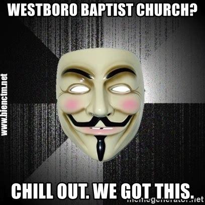 Anon Meme - westboro baptist church meme memes