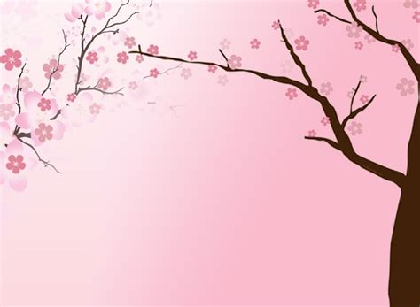 cherry blossom template free cherry blossom backgrounds for powerpoint flower